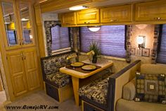 Who would you enjoy your dinners with in this beautiful Newmar Scottsdale?   #ConejoRV #Newmar #MotorCoach