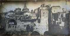 1844 Joseph Philibert Girault de Prangey   http://www.shootingfilm.net/2014/01/the-earliest-pictures-of-jerusalem-from.html?m=1