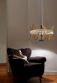 Salone del Mobile 2013 Milano: Pallucco presenta la lampada a sospensione Arianna #MDW2013 #MDW #lighting #euroluce #design #interior #pallucco #lamp