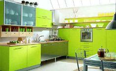 I love lime green!