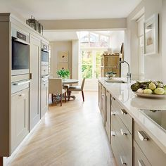 1000 images about galley kitchen ideas on pinterest for Country style galley kitchens