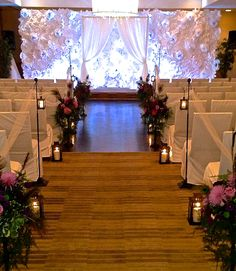 Beautiful wedding ceremony in our Guild Hall. #WeddingWednesday