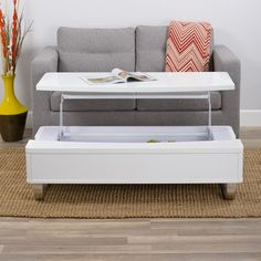 Furniture & Home Decor Search: vig furniture modrest lift top coffee table Coffee Table To Dining Table, Coffee Table Wayfair, Lift Top Coffee Table, Cool Coffee Tables, Decorating Coffee Tables, Coffee Table Books, Modern Coffee Tables, Coffee Mugs, Bench With Storage