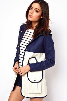ASOS Block Rain Trench | 10 Best Raincoats | Camille Styles