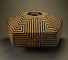 "John Mason, b. 1927 American Vessel, 1993 13 1/2 x 25 x 25"""