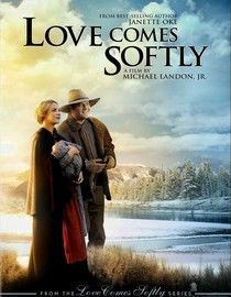 Love Comes Softly.  In the wake of her husband's death, newly widowed pioneer woman Marty tries to survive life on the open range by heeding the advice of friends , marrying a man she doesn't love and caring for his child. Marty plans to stay until the spring -- but when it comes time to move on, things don't turn out as she expected.