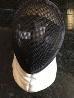@fencinguniverse : AF Absolute Fencing Head Gear Face Mask Size M - Made in the USA White/Black  $29.99 End D http://aafa.me/2keJCNC http://aafa.me/2kuG4VS