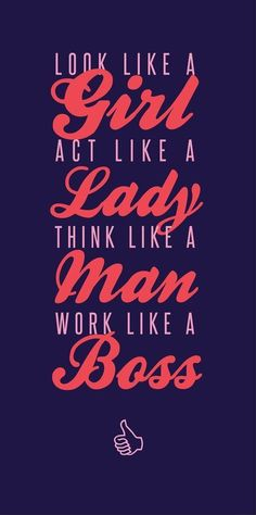 Like A Boss - #Quotes