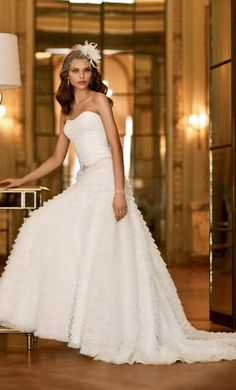 Galina: buy this dress for a fraction of the salon price on PreOwnedWeddingDresses.com