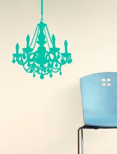 Would be nice(: Chain Chandelier Decal - Dorm Must Haves - Dorm + Apt
