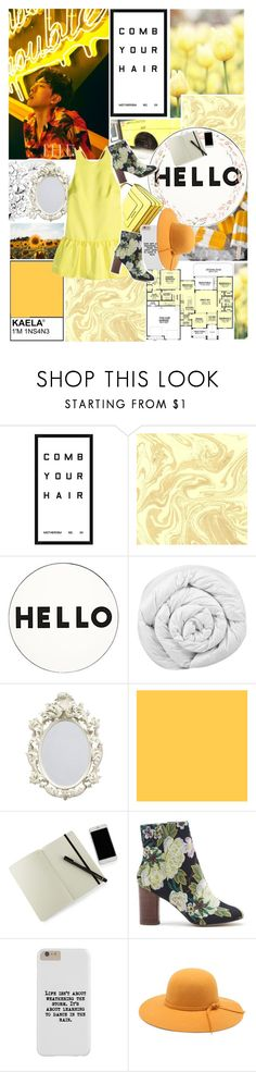 """""""Untitled #364"""" by fankpop ❤ liked on Polyvore featuring Pottery Barn, Lisa Perry, Brinkhaus, Moleskine and Sole Society"""
