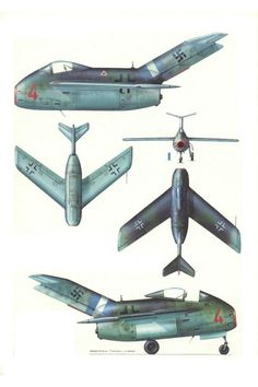 The Focke-Wulf Ta 183 Huckebein (name of a crow from German folklore) was u . Air Force Aircraft, Ww2 Aircraft, Aircraft Carrier, Military Aircraft, Luftwaffe, Ground Effects, Focke Wulf, Experimental Aircraft, Ww2 Planes