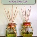 How To Make Reed Diffusers With Essential Oils www.motherspicesgingerrootjuice.com