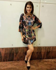 Tapsee Pannu in black coloured dress by Neha Taneja for the press conference of Pink in Delhi Picture: Instagram
