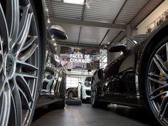 Ecran geant LED Pitch 2,5mm Concession auto Porsche