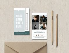 Modern Business Card Template Templates BUSINESS CARD DESIGN TEMPLATE:Your business card will help you make a great first impression on cl by Design by Bittersweet