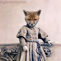 Fox Art - Jackson - Altered Victorian Photograph