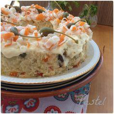 Pastel de bacalao | Cocinar en casa es facilisimo.com Cod, Buffet, Cereal, Oatmeal, Pudding, Tasty, Snacks, Dinner, Breakfast