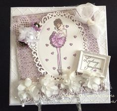 Little Darling Rubber Stamps All Dressed Up Looking Gorgeous