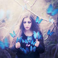 Photo Manipulations by Lara Zankoul  -Very nice, Love the butterflies  -The Saint