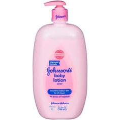 Johnson & Johnson Baby Lotion with that unmistakable baby fresh scent. As the # 1 choice of hospitals and with the wonderful baby fresh scent, it could just be your . Baby Body, Baby Skin, Diy Baby Shower Decorations, Baby Lotion, Perfume, Johnson And Johnson, Baby Powder, Cute Baby Clothes, Body Care