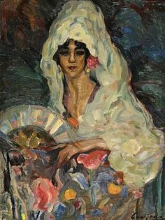 Figurative gypsy paintings | ... Cardona Llados (1877-1957) Spanish Artist ~ Blog of an Art Admirer