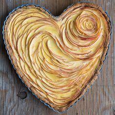 Recette : tarte aux pommes coeur Plus