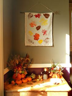 Autumn/fall crafts and ideas, apple pie craft