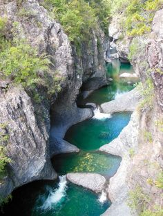 "National Park Radal - ""Las Siete Tazas"" , Chile - via Fernando Esteban's photo on Google+"