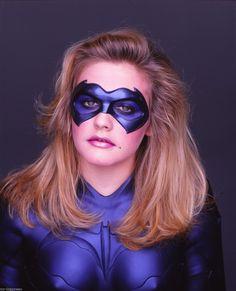 Alicia Silverstone - 2015 Celebrity Photos -  Batgirl Shoot Circa 1997 HQ x 5