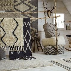 Darby Wool Shag Rug | west elm
