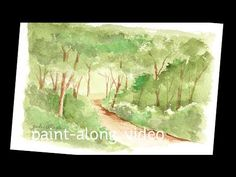 Paint-Along Series #4: Forest Scene – Sandy Allnock
