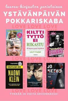 Osallistu Facebookissa Laurea-kirjaston ystävänpäivän pokkariskabaan! https://www.facebook.com/LaureaLibrary
