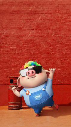 EL CHANCHO ESE ME TIENE PODRIDA ;SI LO MIRO MUCHO ¡¡NO PUEDO COMER UNA PORCION DE TORTA!! JAJAJA....................... Pig Wallpaper, Funny Phone Wallpaper, This Little Piggy, Little Pigs, Cute Piglets, Pig Illustration, Funny Pigs, Mini Pigs, Baby Pigs