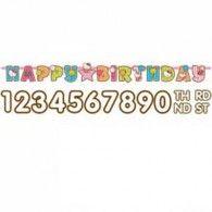 Birthday Banner $10.95 A129009
