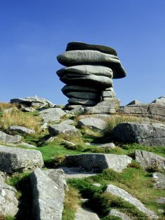 The Cheesewring, Bodmin Moor, Cornwall Done. There is also a stone circle there, so triple done (the moor, the ring and the circle)