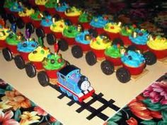 Thomas train cup cakes - Bing Images
