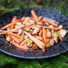 Cinnamon Roasted Vegetables Recipe