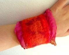 felted cuffs bracelets - Google Search