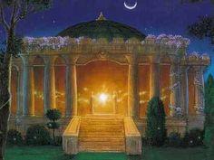 Temple Light Moon