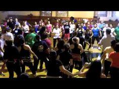 I miss Audrey and Mara!! ZUMBA fitness w/Mara~San Antonio (Free It Up) Destra Garcia & Sean Paul