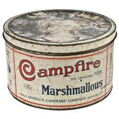 Campfire Marshmallow Tin.