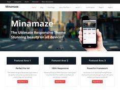 WordPress › Minamaze « Free WordPress Themes