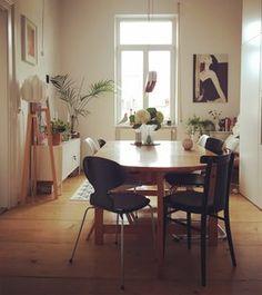Aufgeräumtes Esszimmer #solebich #einrichtung #interior #esszimmer  #diningroom Foto: Mai985