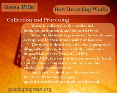 How Recycling Works: Stage 1 - Collection&Processing