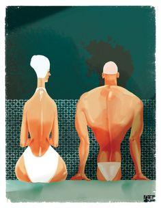 Illustration by Francesca D'Ottavi  Check out more on http://getinspiredmagazine.com/invited/francesca-dottavi/