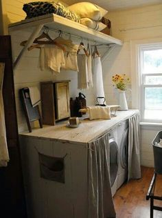 Some ideas for the mud / laundry room