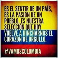 Orgullo Colombian Culture, Quotes En Espanol, Spanish Vocabulary, World Cup 2014, Learning Spanish, Me Quotes, Humor, Country, Words