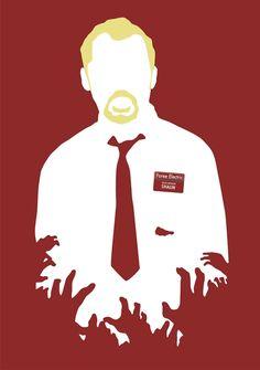Shaun of the Dead #minimalmovieposters.tumblr.com