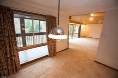 Spacious: Large floor-to-ceiling windows flood the open-plan living space with plenty of l...